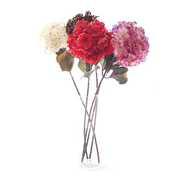 Large vivid Artificial flowers wedding decoration Party Decoration and home decoration artificial plants colorful silk flowers