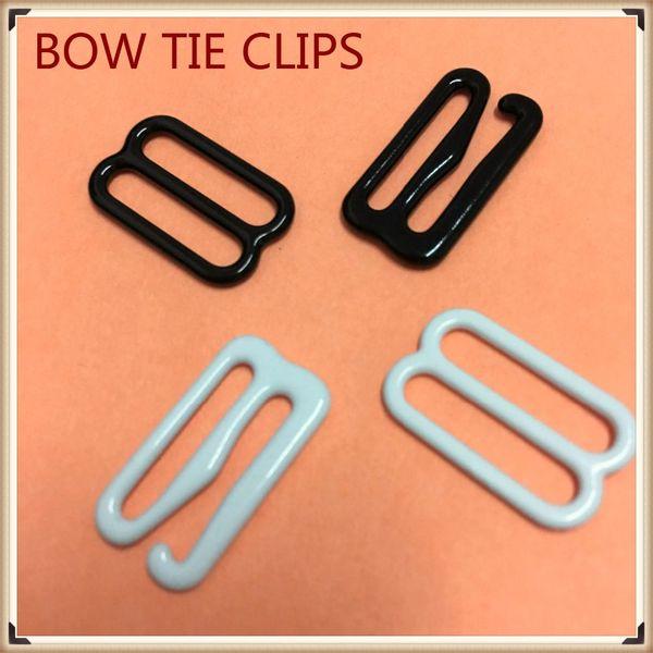 50 takım Metal kanca papyon kol düğmeleri Donanım Kravat Kanca kravat Klipler üzerinde Ayarlanabilir Askıları yapmak için Bağlantı Elemanları Papyon tokaları dips