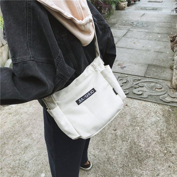 Canvas Crossbody Bags for Women 2019 New Women's Handbags Fashion Small Purse Woman Cell phone pocket Bag Ladies Shoulder Coins