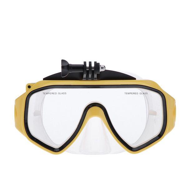 Original Tauchen Brille für Xiaomi Yi Action Sport Kamera Gehärtetes Glas Objektiv Erwachsene Tauchen Masken