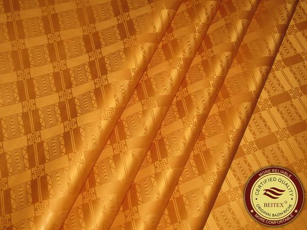 Alemanha Qualidade Jacquard Damasco Shadda Bazin Riche Guiné Brocade Africano Vestuário Tecido De Algodão de Alta Qualidade Semelhante ao Getzner