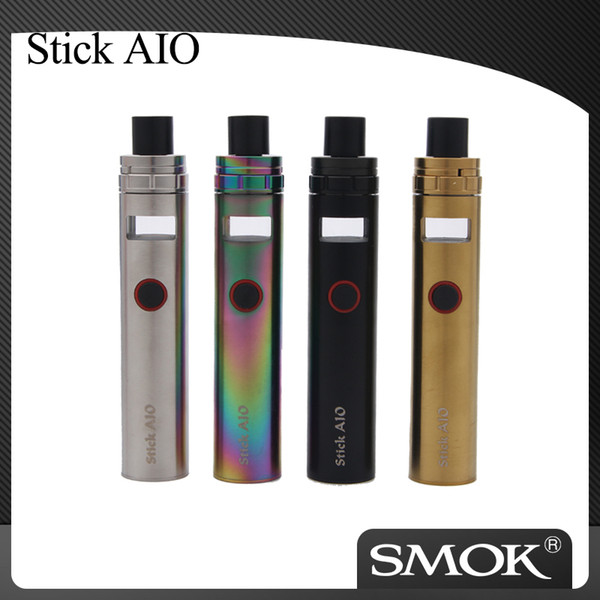 Аутентичные SMOK Stick AIO Kit Vape 1600 мАч Батарея 0.23 Ом с двойной катушкой испарителя Электронная сигарета Kit VS Smok Vape Pen 22 100% оригинал