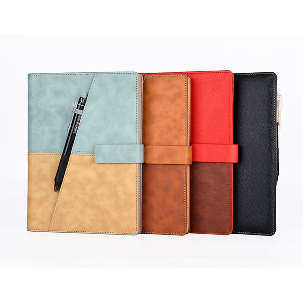 Drawing Writing Leather Spiral A5 Notebook Smart Reusable Erasable Journal Notepad Office Gift Supplies