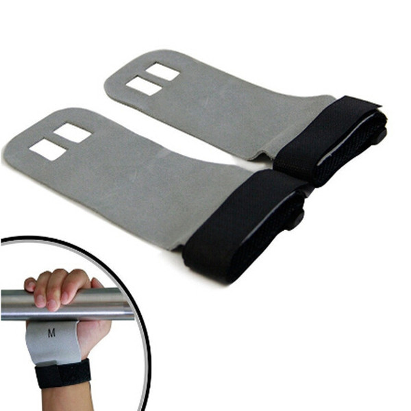 best selling S M L Hand Grip Synthetic Leather Crossfit Gymnastics Guard Palm Protectors Glove Pull Up Bar Weight Lifting Glove WS-34