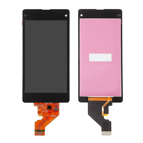 Grade A+++ No Dead Pixel Test LCD Touch Screen Digitizer Assembly For Sony Xperia Z1 Compact z1 mini M51W Black