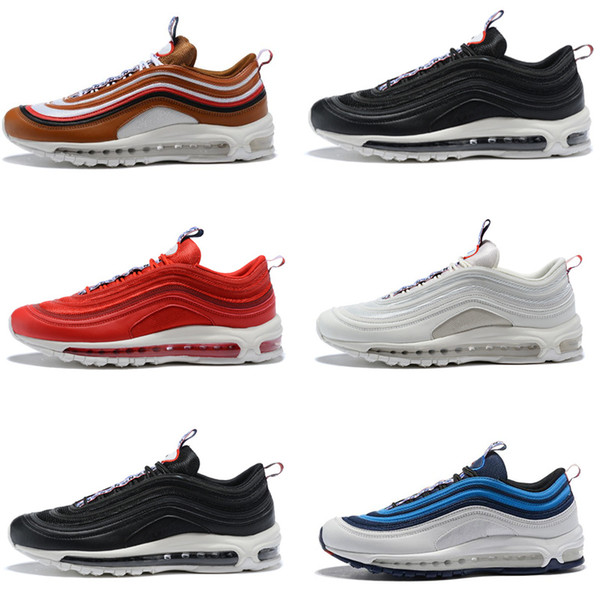 Acquista Hot NIKE AIR MAX 97 Scarpe Da Corsa Uomo SE Perfect Illusion Scarpe Da Vela Obsidian 97 TT PRM PULL TAB ALE Sneakers Marrone Gym Scarpe Da