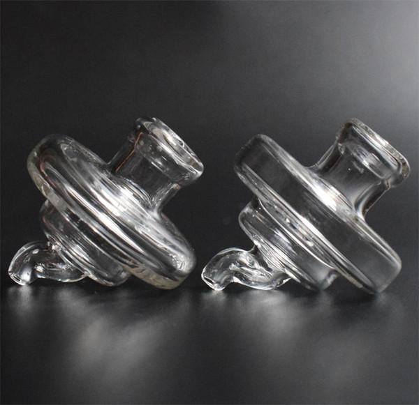 Bicchiere universale UFO Bubble Carb Cap Cappello con cupola a cupola per XXL Domeless Quartz banger Nails dab oil rigs bong in vetro