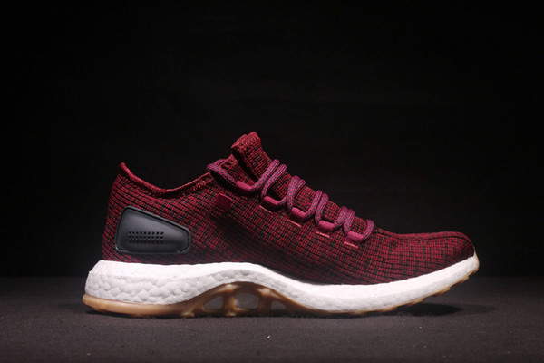 sports shoes 7ce0a 0def2 2018 Fashion Real Ultra Boost Pureboost Climacool Sneaker Ub 2.0 Pb Shadow  Knit 350 Racer Women Men Casual Sport Shoes White Shoes Wedges Shoes From  ...