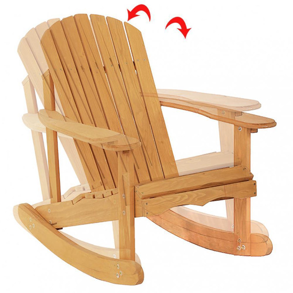Peachy 2019 New Garden Rocking Rest Adirondack Wood Chair Furniture Lawn Patio Deck Seat From Hongxinlin21 55 27 Dhgate Com Squirreltailoven Fun Painted Chair Ideas Images Squirreltailovenorg