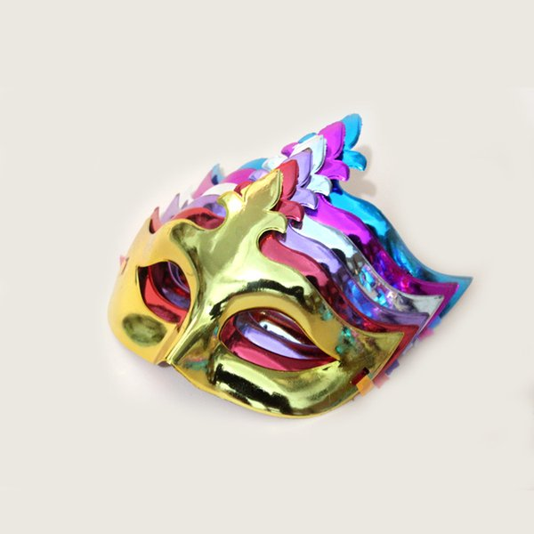 On sale Party Mask Venetian Masquerade Mask party decoration cute wedding gift Carnival Mardi Gras Prop mix color