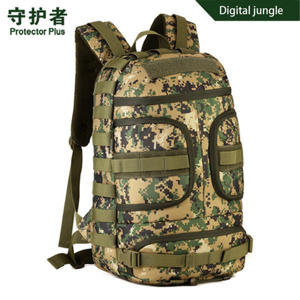 Sac à dos militaire de haute qualité en nylon imperméable pour femmes Casual Travel DSLR Caméra Sac Camouflage Laptop Pack