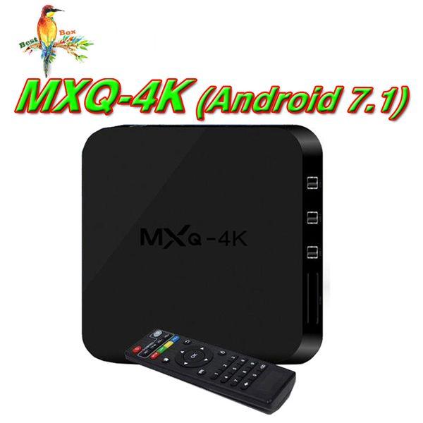 MXQ PRO 4K TV BOX Android 7.1 Quad Core Rockchip RK3229 Internet 4K 1GB 8GB WiFi 4K 3D Google Media Player Better S905W X96 Mini MXQ Pro