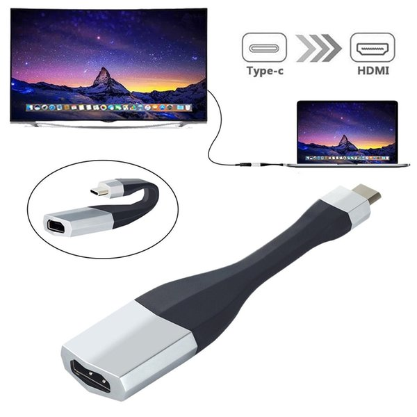 UHD 4K Ultra HD USB 3.1 Type C to HDMI Adapter USB3.1 Type-C USB-C to HDMI Cable HDTV AV Converter for Samsung S8 Note 8 Macbook