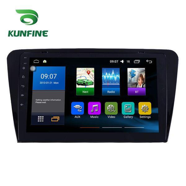 Octa Core ISP+2.5D 32G Android 7.1 Octa Core Car DVD Player GPS Stereo Navi for Skoda Octavia 2014 Radio Headunit WIFI Bluetooth