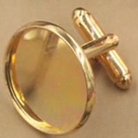 Gold Plated 12MM Blank