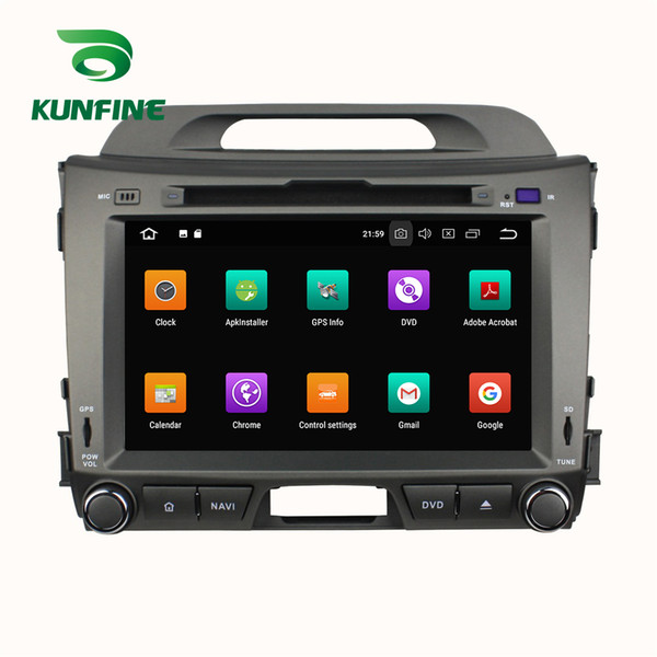 4GB RAM Android 8.0 Octa Core Car DVD GPS Player Navigation Stereo for KIA SPORTAGE 2010 2011 2012 2013 2014 2015