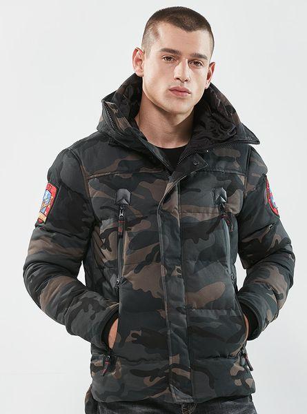 cheap for discount 25236 a233e Acquista Piumino Invernale Anatra Caldo Uomo Abbigliamento ...