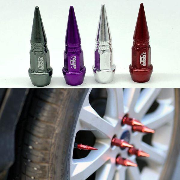 4pcs / lot Accessori auto Blox Lug dadi stile Ruota Pneumatici Valvole Pneumatici Stem Air Caps Cover case per Universal Car