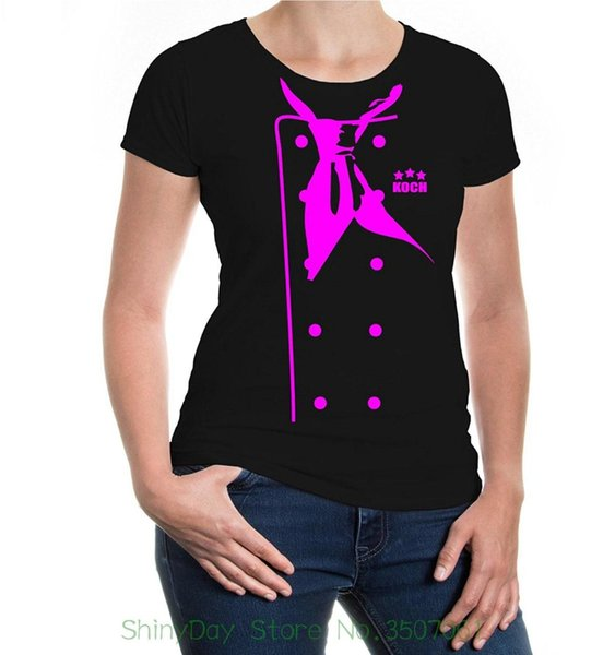 T-shirt 2018 Marka Giyim Slim Fit Baskı Buxsbaum kadın Şef Ceket T-shirt