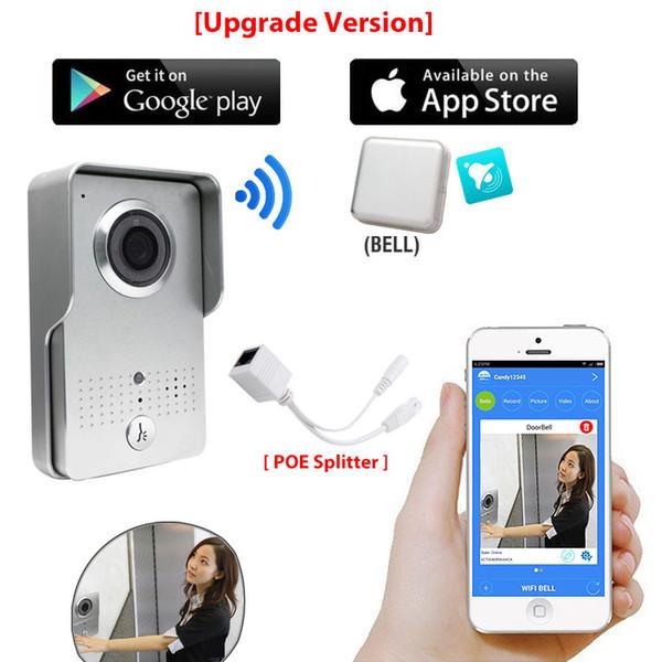 Wireless Wifi Doorbell Intercom Video Door Phone + Indoor Bell For Phone  APP Home Door Camera Home Front Door Camera From Amocam, $109 55| DHgate Com