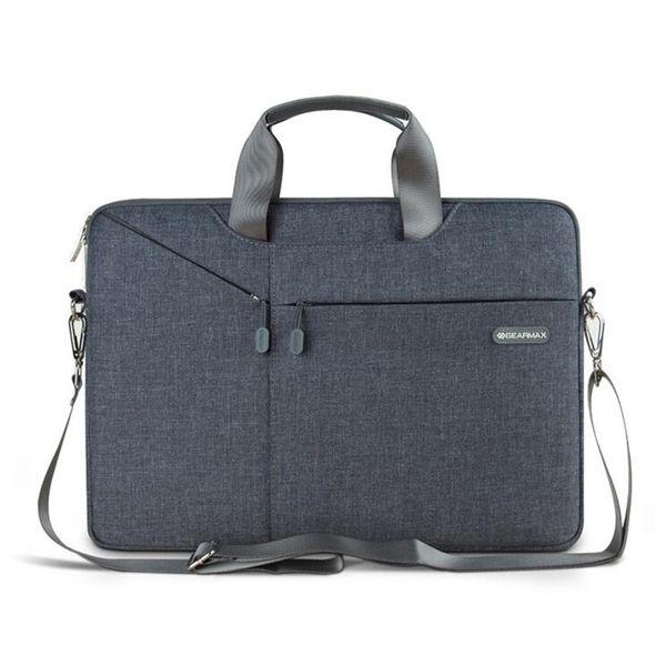 Fashion New Business Laptop Bag 11 '13' 15 'Laptop Custodia per Notebook per computer grigio spedizione gratuita