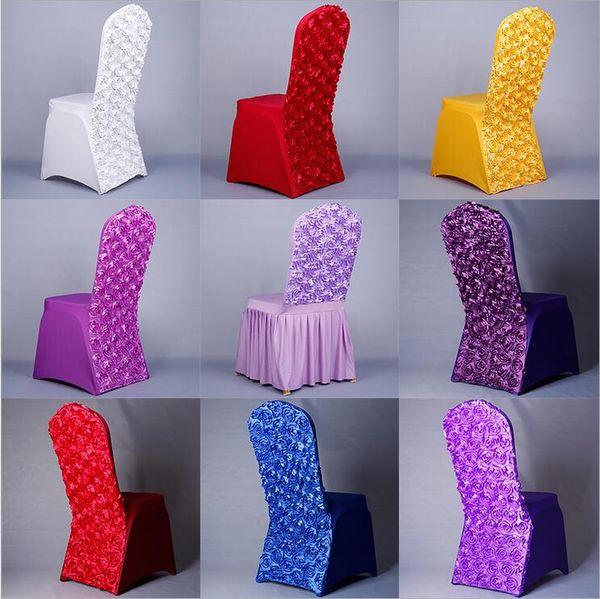 Copertura della sedia di nozze di Rinnovamento della sedia della copertura della sedia del nuovo di cerimonia nuziale della copertura della sedia della copertura della sedia di nozze e dello Spandex per le nozze