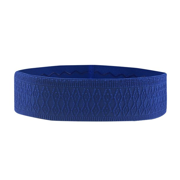 Sport Headband Men Women Head Sweat Band Run Football Tennis Headscarf Silicone Anti-slip Elastic Sweatband HairBand