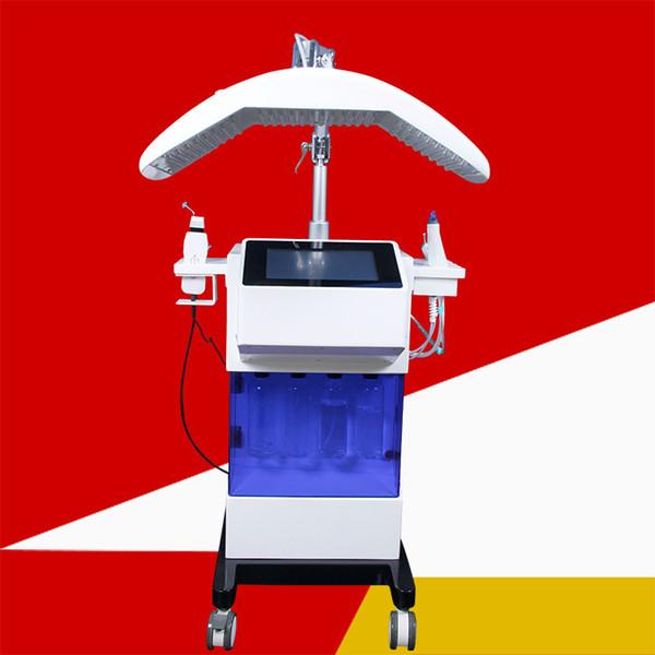 Máquina de dermoabrasão Hydrafacial 8 em 1 cuidados de Oxigênio Diamante microdermoabrasão facial peel BIO Face Lift Ultrasonic Máquina de Limpeza Profunda