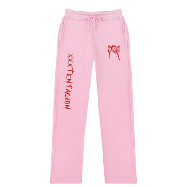 Xxxtentacion pants Pantalon de survêtement à taille haute décontracté taille haute pour hommes / femmes, 5 couleurs