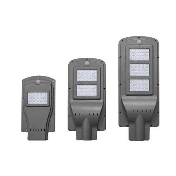 LED Solar Integrated Street Light Body Radar Sensor Road Light 20w 40w 60w Rural Construction Lighting