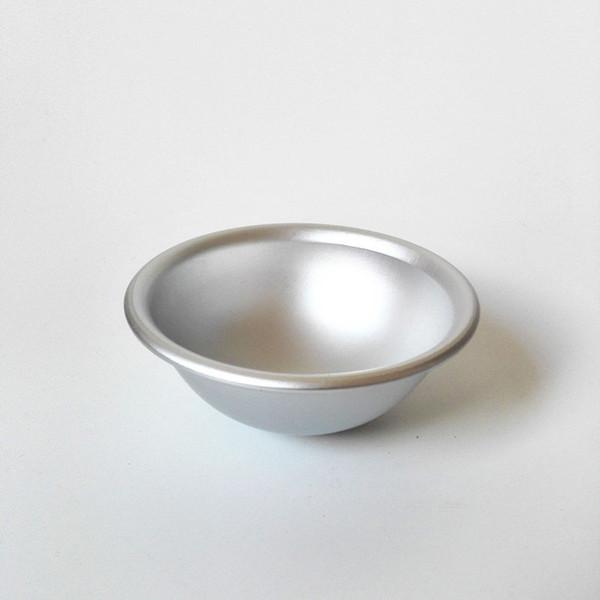 Hot 100pcs Ball Aluminum Semicircle Bath Sphere Bomb Cake Pan Mold Baking Pastry Mould fast shopping jc-165