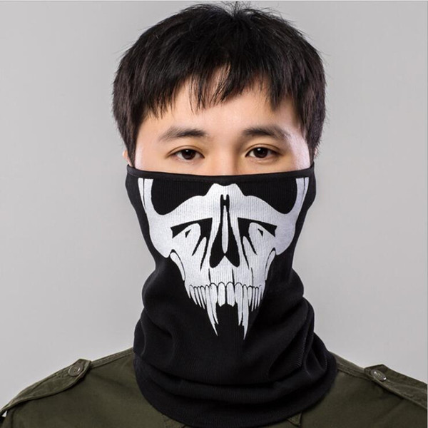 Q1017 Free shipping hot sale outdoor riding mask hood cold warm dust haze neck bibs Face Masks