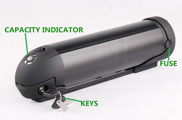 36V 18Ah 800W batterie de vélo électrique envoyer 2A chargeur en stock de la Chine AU USA UE livraison gratuite d'impôt