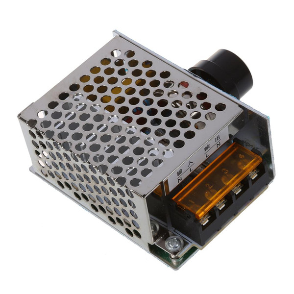 High Power 4000W 220V Speed Controller SCR Voltage Electronic Regulator Governor Thermostat