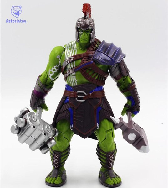 Thor 3 Ragnarok Hulk Robert Bruce Banner PVC Action Figure Collectible Model Toy 20cm