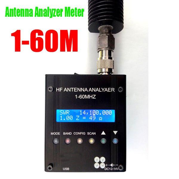 Freeshipping MR300 Dijital Kısa Dalga Anten Analiz Metre Cihazı Ham Radyo Için 1-60 M