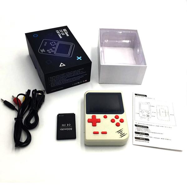Mini 8 Bit El Oyun Konsolu 129 168 Klasik Oyunlar Ile 2.4 Inç LCD 800 mAh Pil Desteği AV Çıkışı Retro Video Oyun Oyuncu