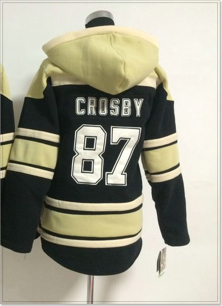 New Pittsburgh Womens #87 Sidney Crosby Vintage Ice Hockey Shirts Uniforms Sweaters Hoodies Stitched Embroidery Sports Team Jerseys Cheap