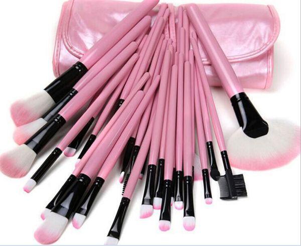 2019 Professional Makeup Brushes Set 32pcs Portable Full Cosmetic Make up Brushes Tool Foundation Eyeshadow Lip brush with Bag