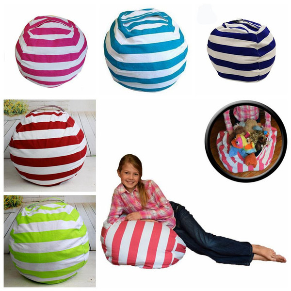 Remarkable 2019 18 Inch Kids Storage Bean Bags Plush Toys Beanbag Chair Bedroom Stuffed Animal Room Mats Portable Clothes Storage Bag Ooa4433 From Uwap Interior Chair Design Uwaporg