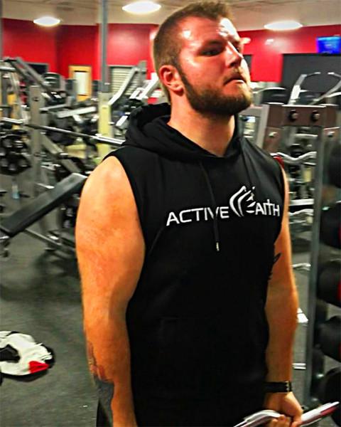Marca com capuz tanque top homens ginásio colete de fitness sólida musculação camisas mens sportswear singlet correndo coletes sem mangas