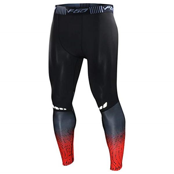 Mens Gym Compression Leggings Sport Training Pants Men Running Tights Trousers Men Sportswear Dry Fit Jogging Pants