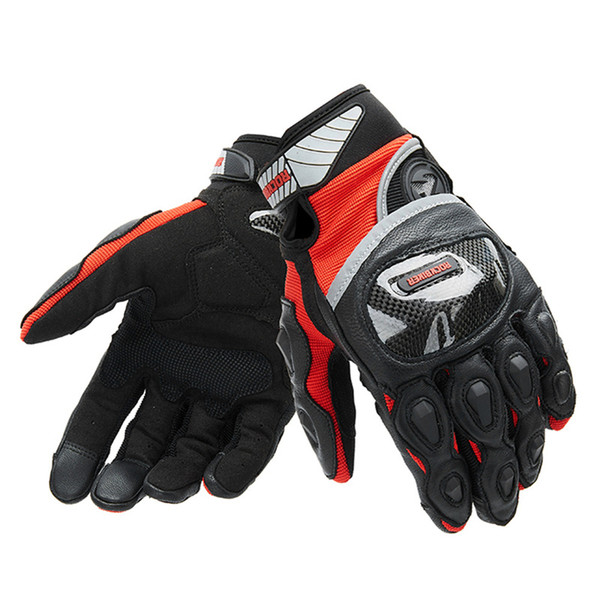 MotorcycleTouch Screen Gloves Full Finger Summer Outdoor Sports Riding Motorbike Gloves Breathable Motocross Guantes