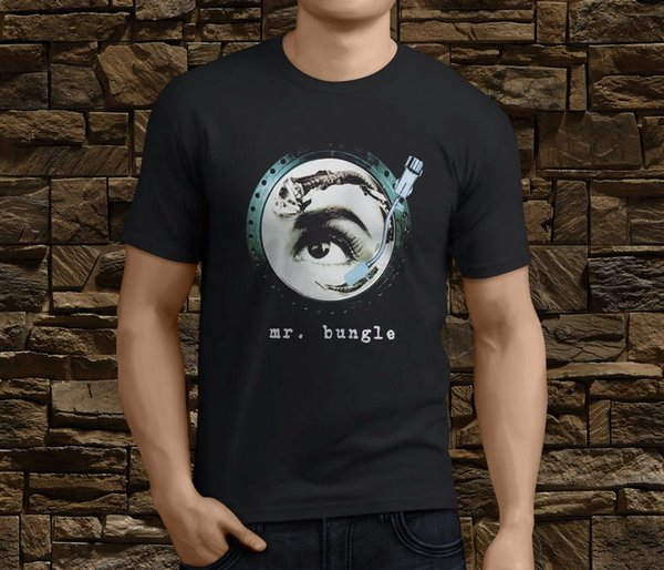 New Mr Bungle Disco Volante Metal Rock Band Men's T-Shirt Size S-3Xl T-shirt Men's Vintage White Short Sleeve Custom 3XL Group T-shirts