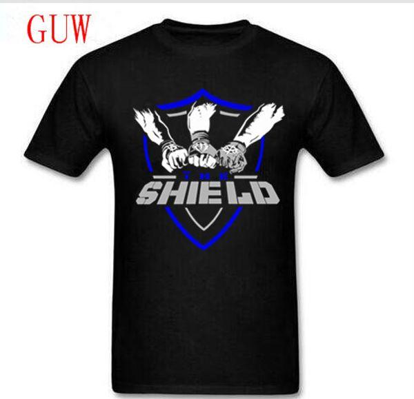 "Kosmo Masa 2018 Wrestling Cotton The Shield "" Shield United "" T-shirt Baseball Cap Wristbands Set 3 In 1 Set Men T Shirt"
