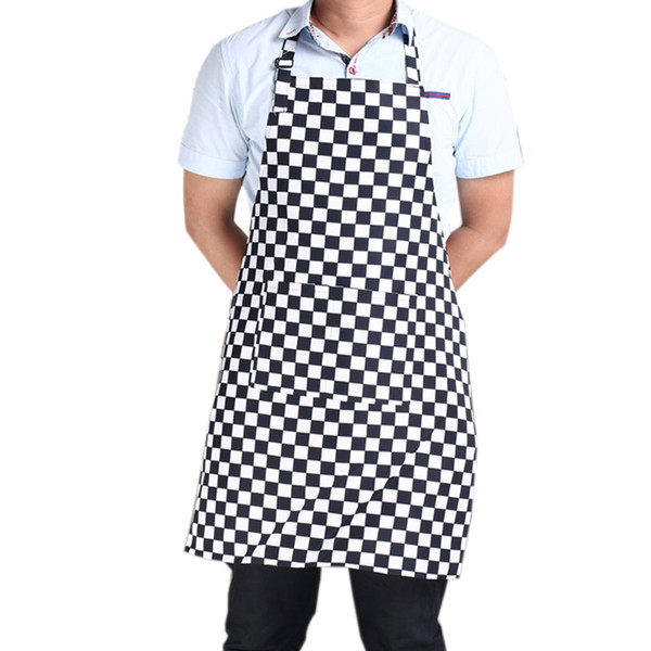 3 style Sleeveless Apron stripe apron waterproof aprons For Men women Chef Bucher Kitchen Cook Household Cleaning Tools