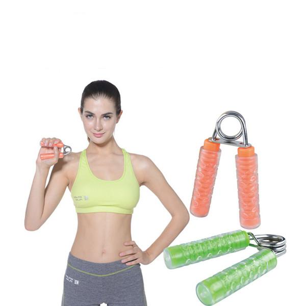 Transparent Hand Grip Hand Training Power Gripper Wrist Forearm Heavy Grip Fingers Strength Exerciser Gym Home Fitness Equipment