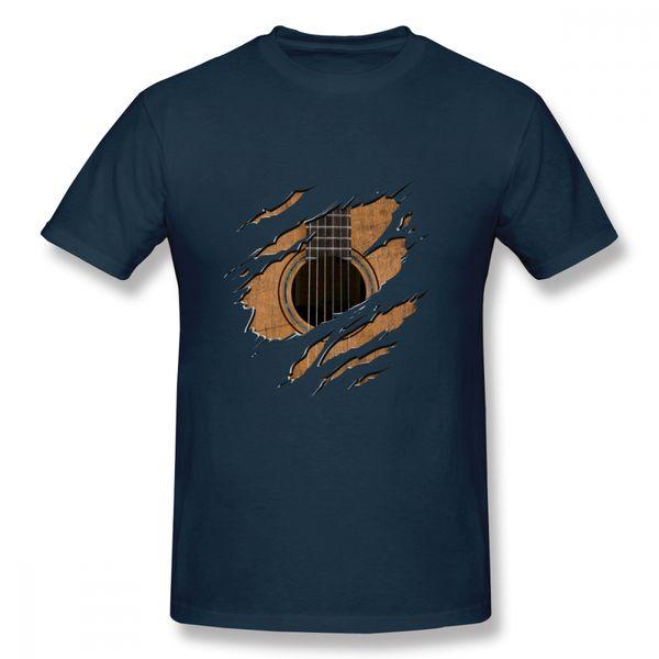 Leisure Rip Guitar T Shirt Male Cheap Top Design For Boy T Shirt Plus Size Hot Sale New Arrival 100% Cotton Tees