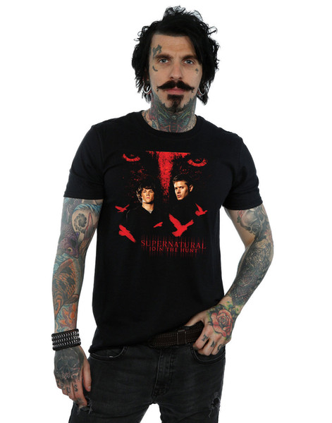 Supernatural Men's Crow Eyes T-Shirt