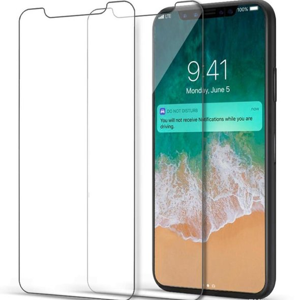 Newest iPhone Tempered Glass iPhone XS MAX Screen Protector IphoneXS Film For iphoneXS XR Refine With paper Package by DHL